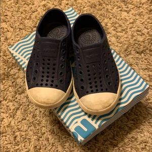 Native Jefferson shoes for toddlers size 7C